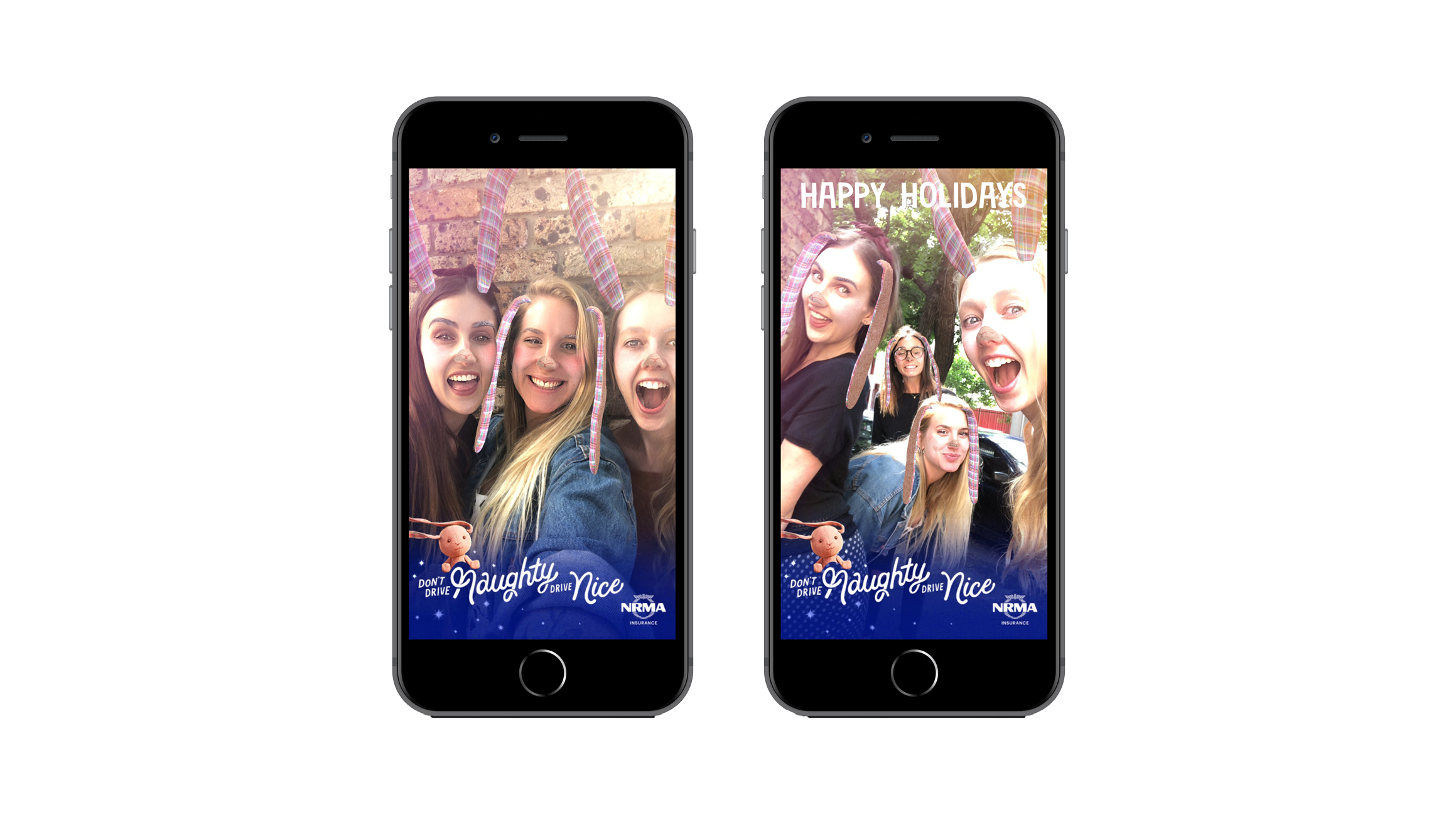 NRMA - Christmas Facebook AR Lens